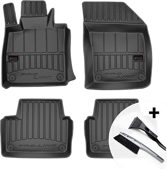 Moto Moltico 3d Rubber Mats Car Floor Mats Rubber Car Mats Set Of 4 Suitable For Volvo S90 V90 From 2016 Auto