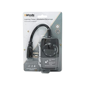 Amazon woods 2001 outdoor outlet timer w photocell light sensor amazon woods 2001 outdoor outlet timer w photocell light sensor weatherproof 24 hours mechnical black by woods mozeypictures Image collections