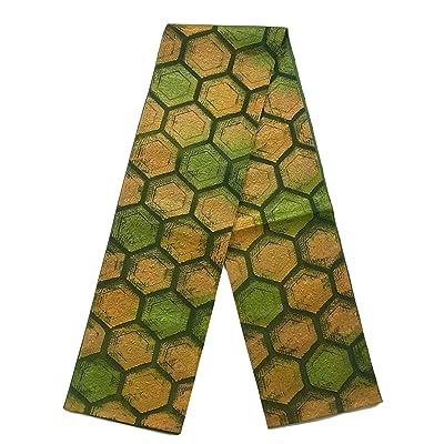 リサイクル 全通 袋帯  古典 亀甲華文 正絹