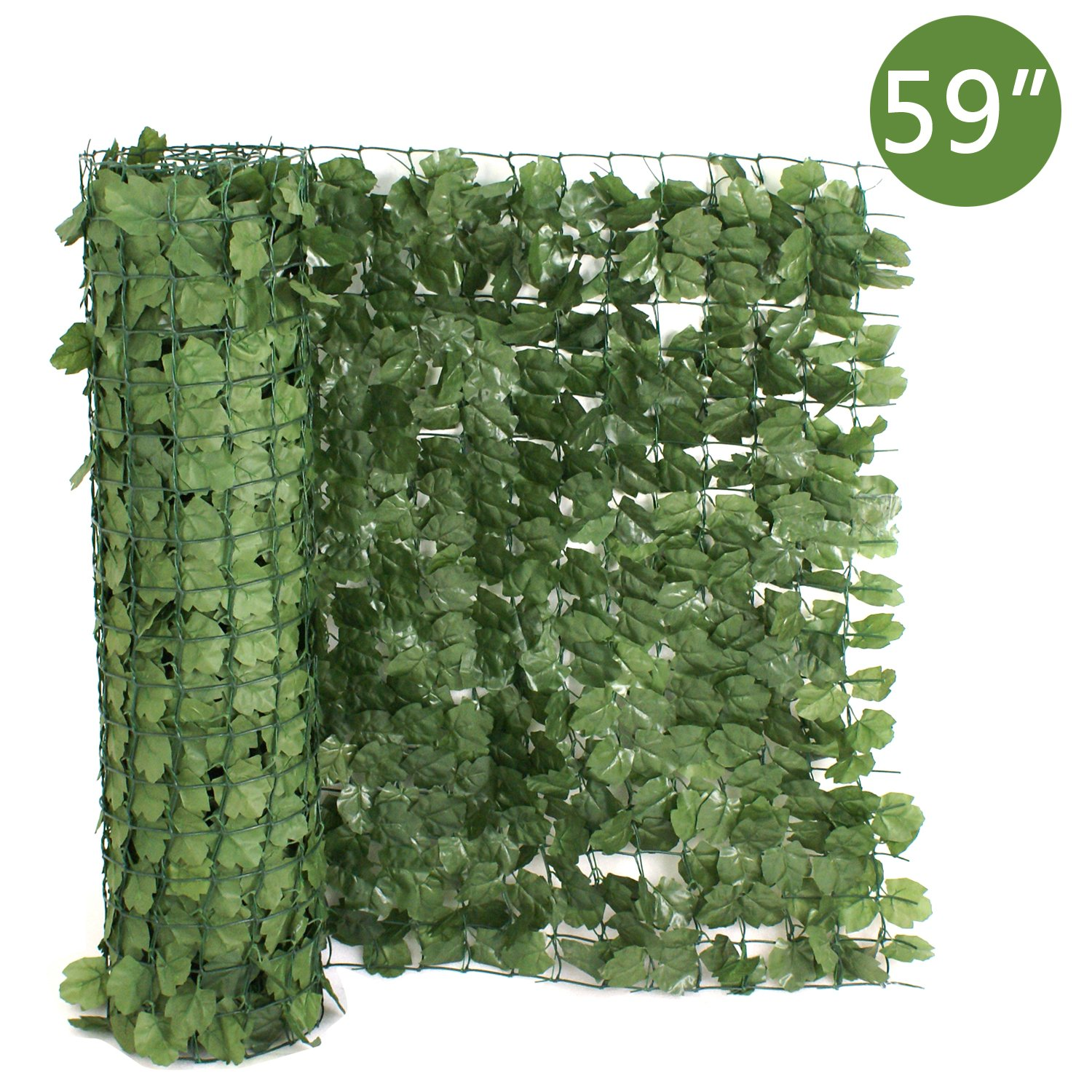 SUPER DEAL 94'' X 59'' Faux Ivy Privacy Fence Screen Artificial Hedge Fencing Outdoor Decor