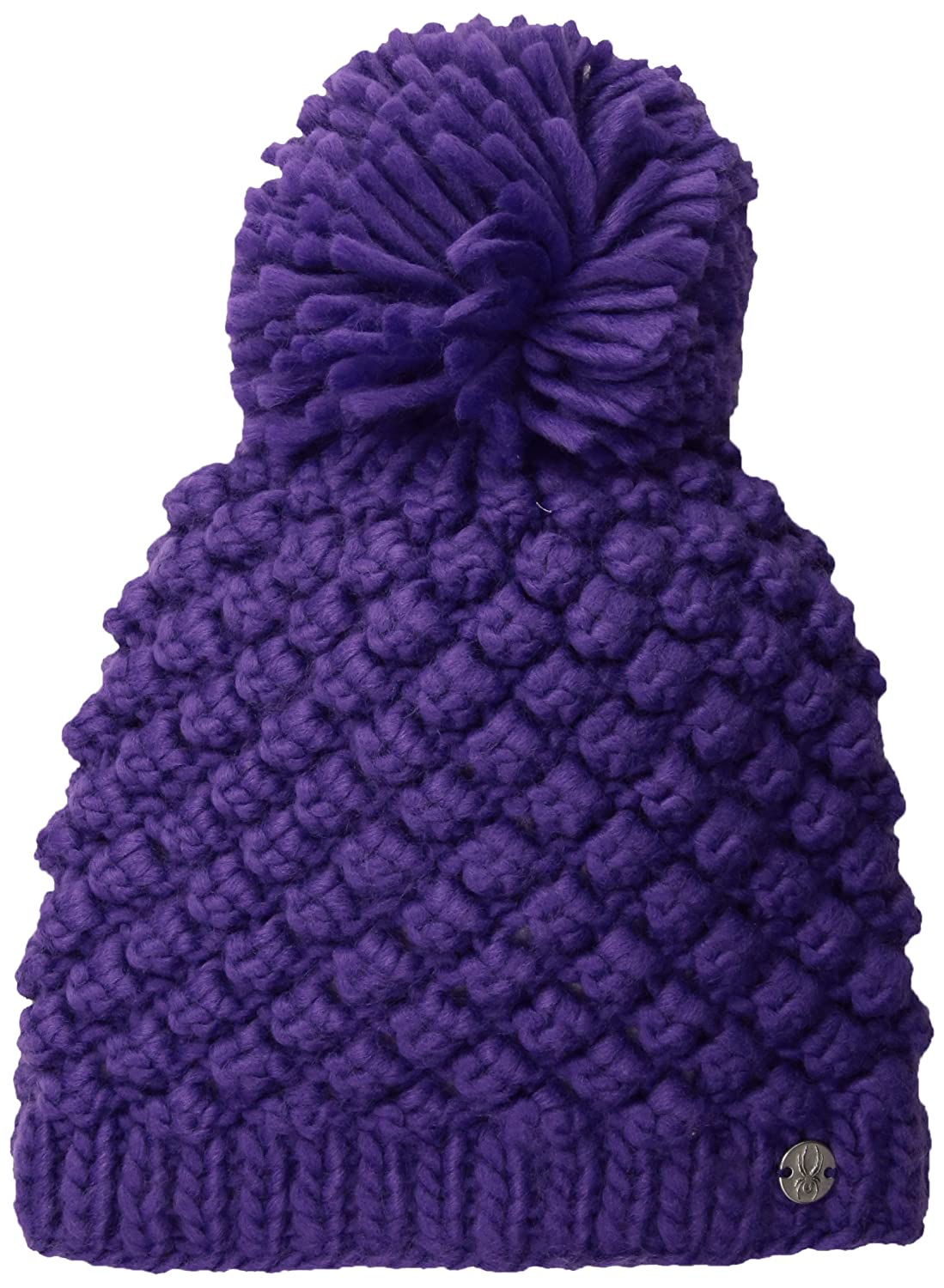 Spyder Active Sports Girl's Burr Berry Hat, Iris, One Size 726612