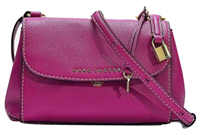 2f4951ec41cd Image Unavailable. Image not available for. Color  Marc Jacobs Mini Boho  Grind Leather Crossbody Bag ...