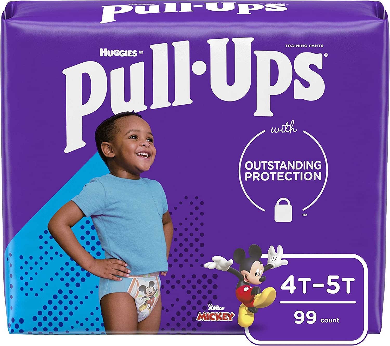 Pull-Ups Learning Designs Boys' Training Pants, 4T-5T, 99 Ct