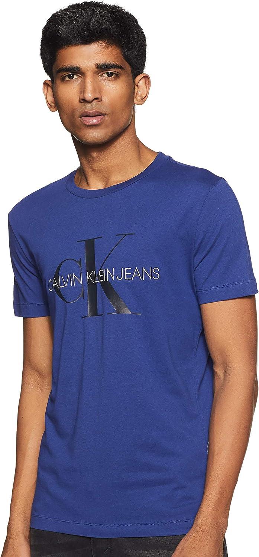 Calvin Klein Monogram Logo Slim tee Camisa para Hombre: Amazon.es: Ropa y accesorios