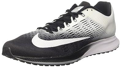 Nike Women's Wmns Air Zoom Elite 9, BLACK/WHITE-COOL GREY, 5.5