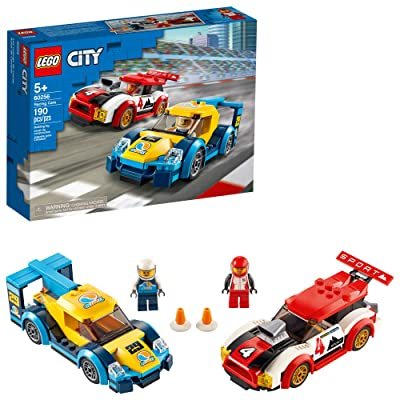 LEGO City Racing Cars 60256 Fun, Buildable Toy for Kids, New 2020 (190 Pieces): Toys & Games