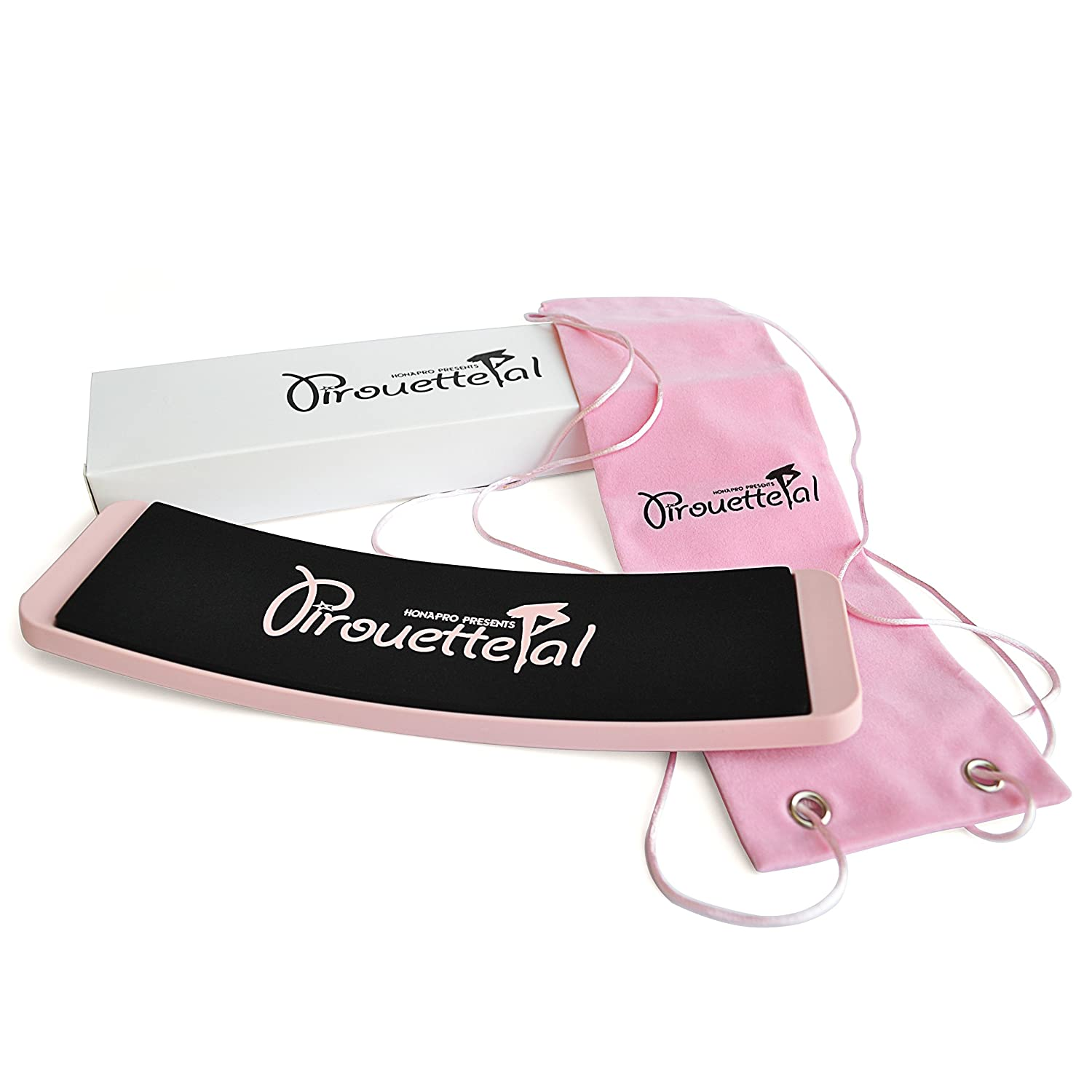PirouettePal Turn Board - Premium Turning Board and Carry Bag in a Gift Box for Ballet Dancers