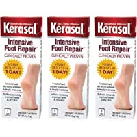 Kerasal One Step Exfoliating Moisturizer Foot Therapy - 1 oz, Pack of 3