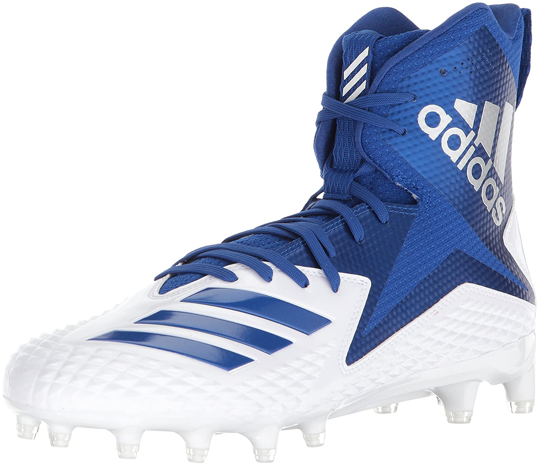 adidas Men's Freak X Carbon Mid Football Shoe B07234L1PD 7.5 D(M) US White/Collegiate Royal/Collegiate Royal