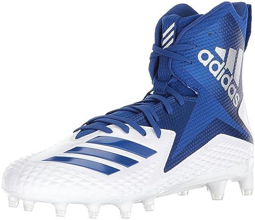 online retailer 322d6 7b81e Adidas Freak X Carbon Mid - Zapatillas de fútbol para Hombre, Blanco, Azul  Rey