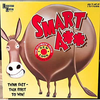 Smart A Game The Ultimate Trivia Game: Toys & Games