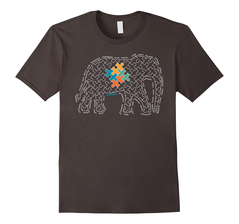 Autism Awareness Teacher T-Shirt-FL
