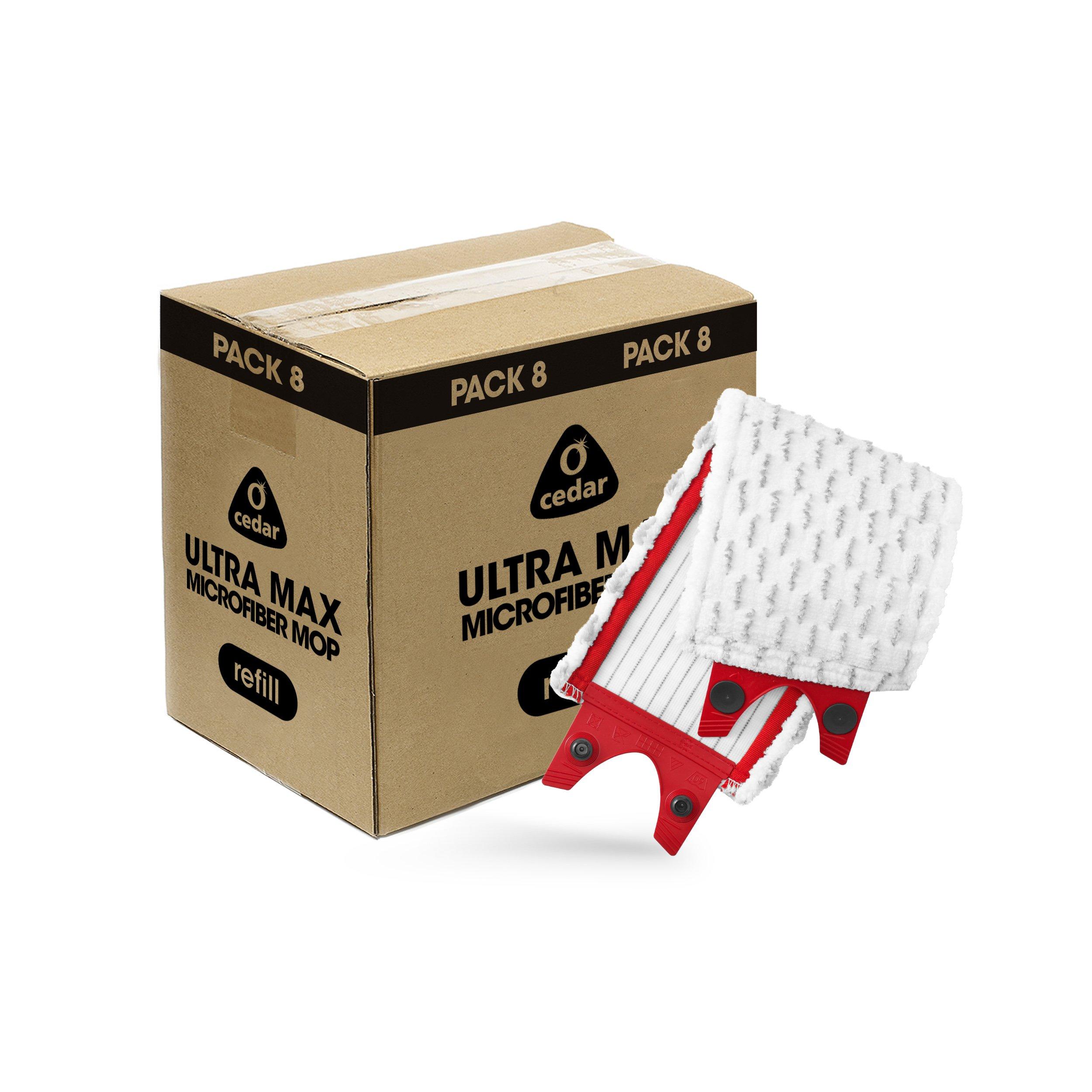O-Cedar Ultra Max Mop Refill (Pack 8)