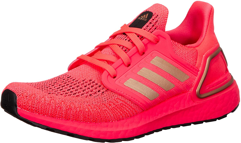 adidas Ultraboost 20 - Zapatillas de correr para correr o correr en carretera o directo, ligeras, con apoyo neutro para mujer, rosa: Amazon.es: Zapatos y complementos