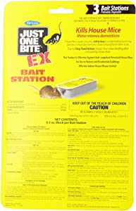 Farnam Just One Bite EX Bait Station, 3-Unit