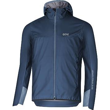 Gore Wear Chaqueta de trekking cortavientos para hombre, H5 WINDSTOPPER Insulated Hooded Jacket, Talla