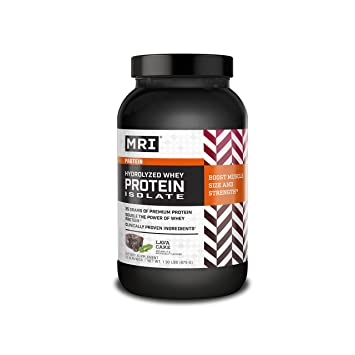 MRI Performance Hydrolyzed Whey Protein Isolate Powder with VELOSITOL, 100% Hydrolyzed Whey Protein Isolate