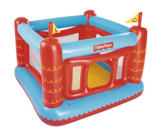 Castillo Hinchable Bestway Fisher Price Bouncetastic: Amazon.es ...