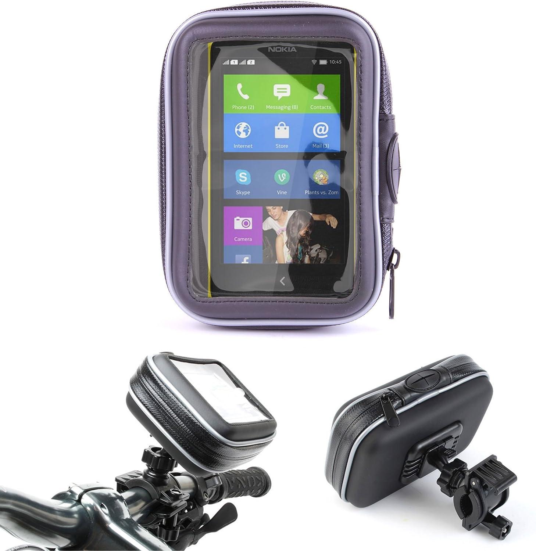 DURAGADGET Montaje Giratorio para Bici De Montaña Y Funda para Nokia Lumia X