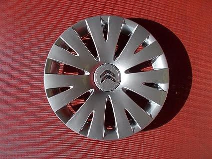 Citroen Tapacubos para Citroen Berlingo, Nemo, Xsara y Picasso, 38,1 cm