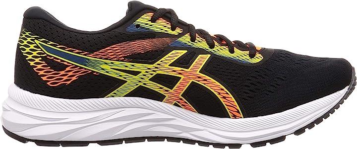 Asics Gel-Excite 6, Zapatillas de Running para Hombre, Negro ...