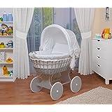 WALDIN Baby Stubenwagen-Set mit Ausstattung,XXL,Bollerwagen,komplett,26 Modelle wählbar