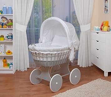 WALDIN Baby Stubenwagen Set Mit AusstattungXXLBollerwagenkomplett26 Modelle