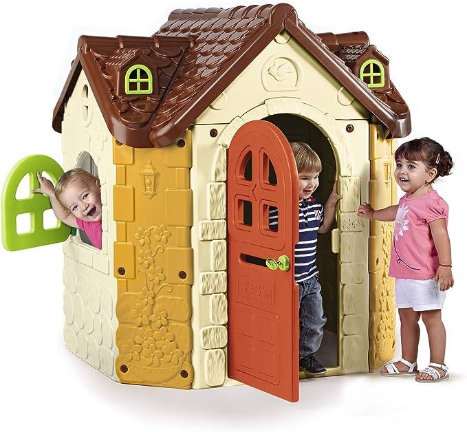 FEBER - Casita infantil para el jardín, Fancy House (Famosa 800010962): Amazon.es: Juguetes y juegos