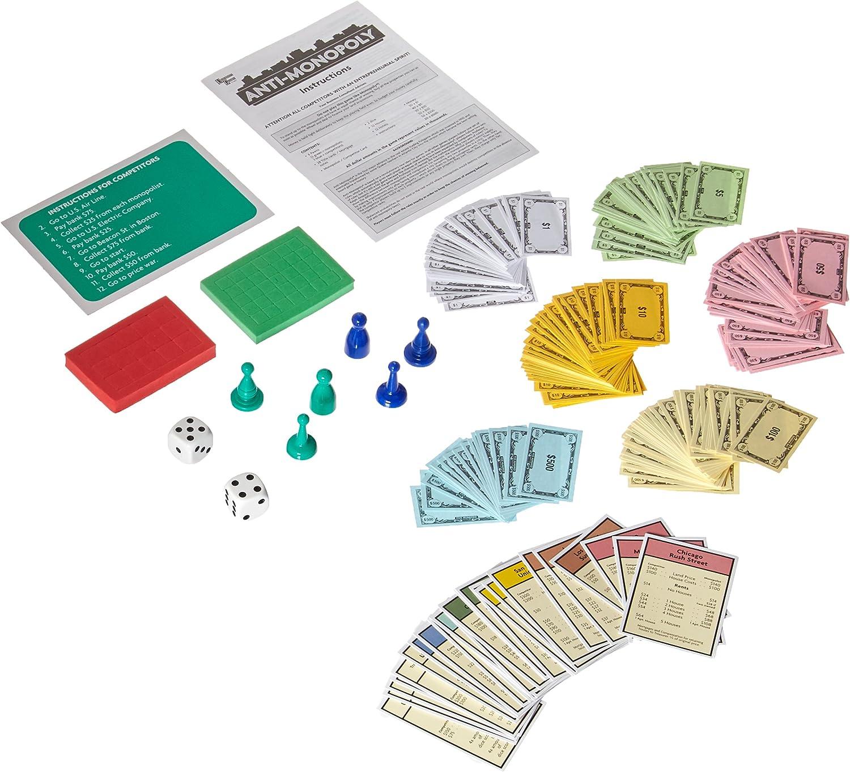 Anti Monopoly Travel Version by Paul Lamond Games: Amazon.es: Juguetes y juegos