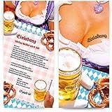 Einladungen (50 Stück) Oktoberfest Frühschoppen Hüttengaudi Geburtstag  Einladungskarten