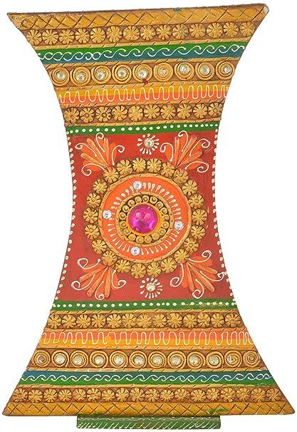 Buy omshivakriti paper mache flower pot 2794 cm x 2032 cm x omshivakriti paper mache flower pot 2794 cm x 2032 cm x 762 cm mightylinksfo