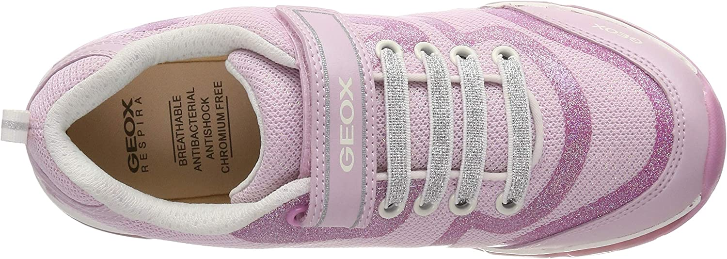 Geox Girls J Android C Low-Top Sneakers