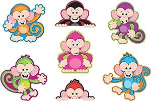 Trend Enterprises Color Monkeys Classic Accents Variety Pack (42 Piece)