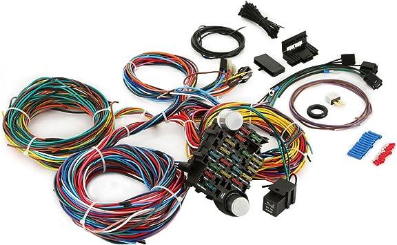 automotive wire harness kits amazon com mophorn wiring harness kit 12 circuit hot rod  mophorn wiring harness kit 12 circuit