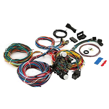 81aiSgZPz%2BL._SX425_ amazon com cncshop 12 circuit wiring harness kit hot rod universal