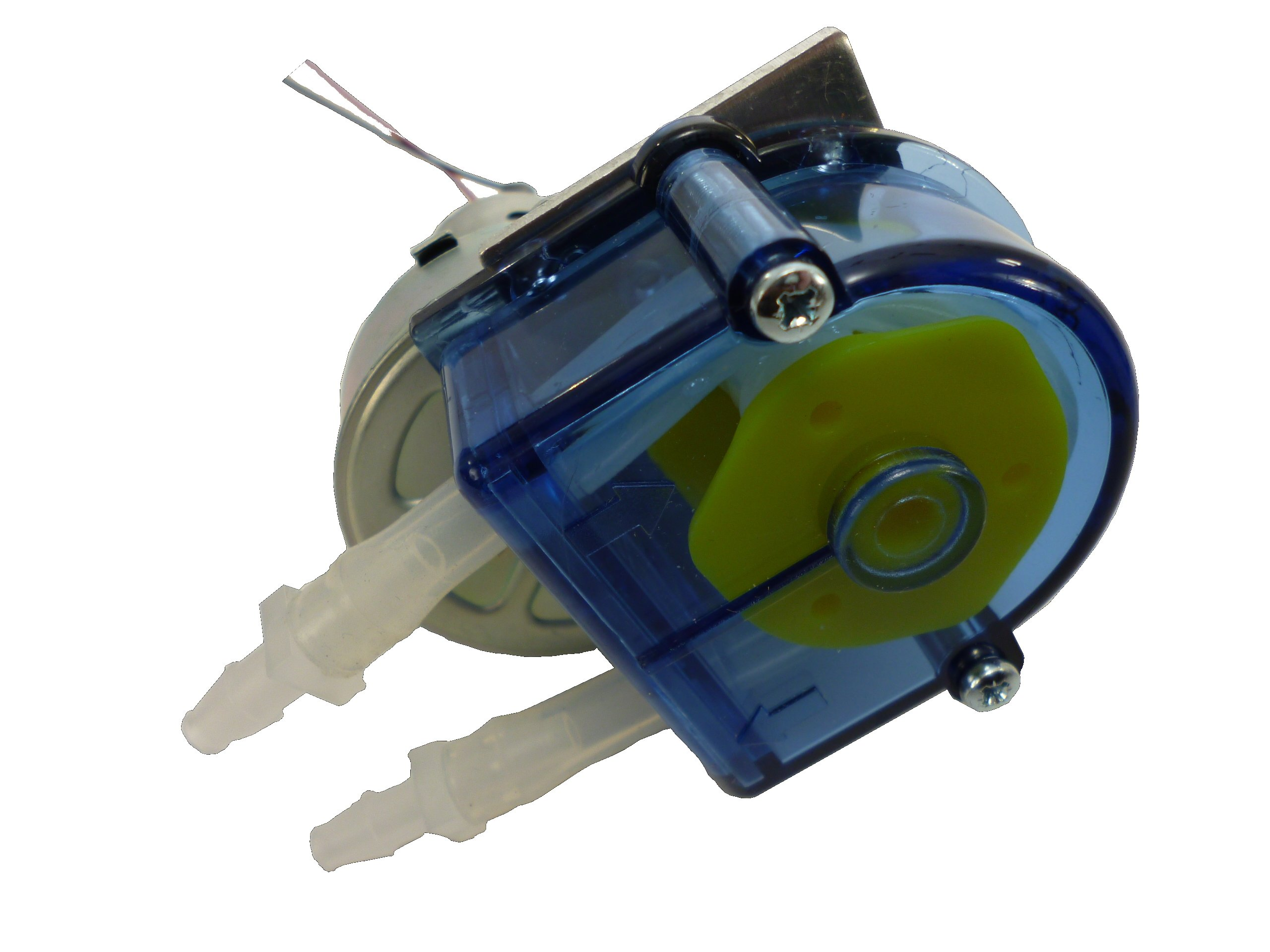 Simply Pumps PM200F Peristaltic Industrial Grade Self Priming Dosing Dispensing and Metering Pump with Norprene Food Grade Tubing, 12V DC, 300 mL/min