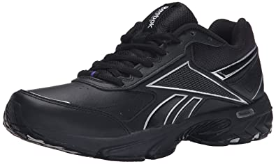 Reebok Women's Daily Cushion 3.0 RS Walking Shoe, Black/Pure Silver/Team  Purple
