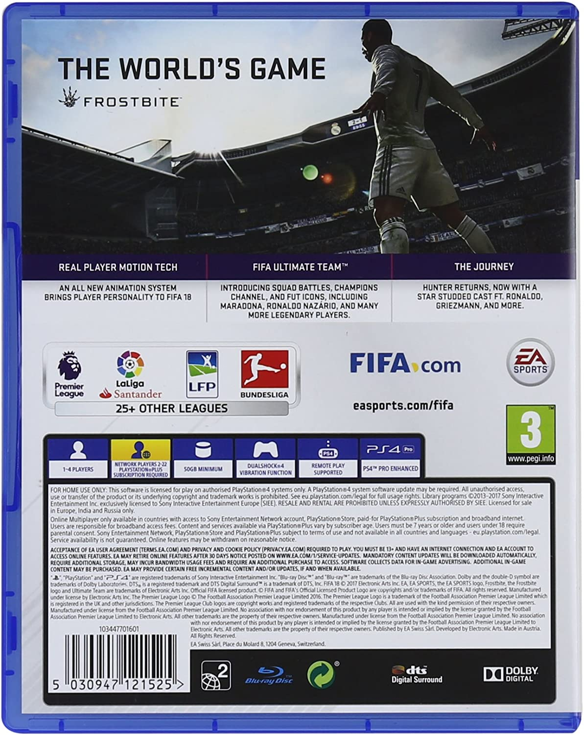 Fifa 18 Standard Edition Nintendo Switch Electronic Gear Club Unlimited English Pal Games Arts Video