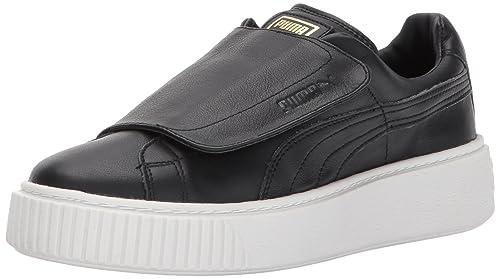 be256d12fcf20a PUMA Women s Basket Platform Strap Wn Sneaker  Amazon.ca  Shoes ...