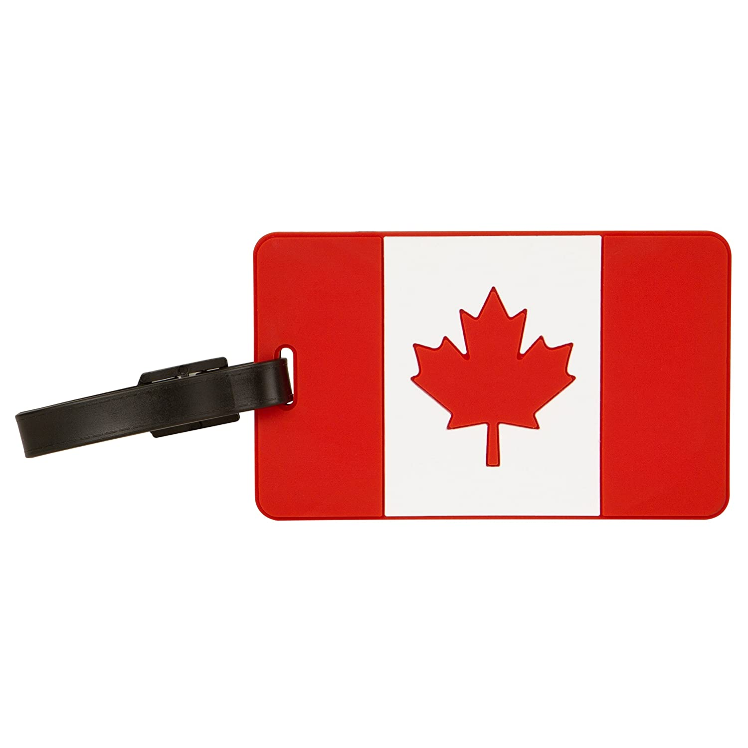 Travelon Canadian Flag Tag One-Color, One-Color, One Size 12704 000