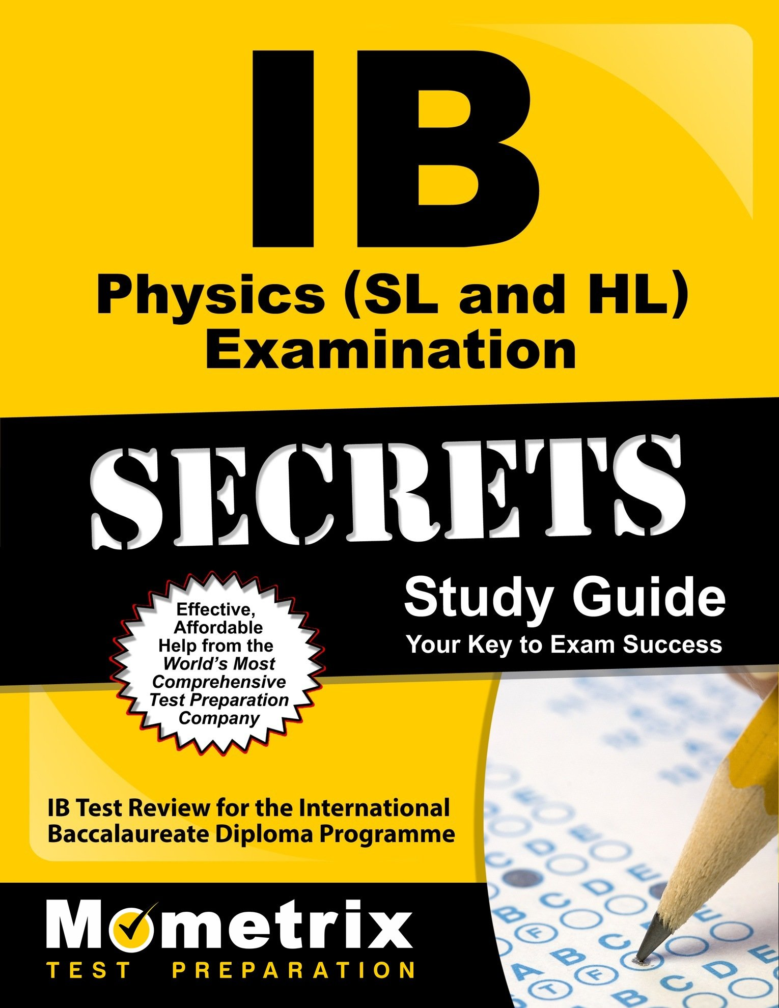 Buy IB Physics SL and HL Examination Secrets: IB Test Review for the International  Baccalaureate Diploma Programme (Secrets (Mometrix)) Book Online at Low ...