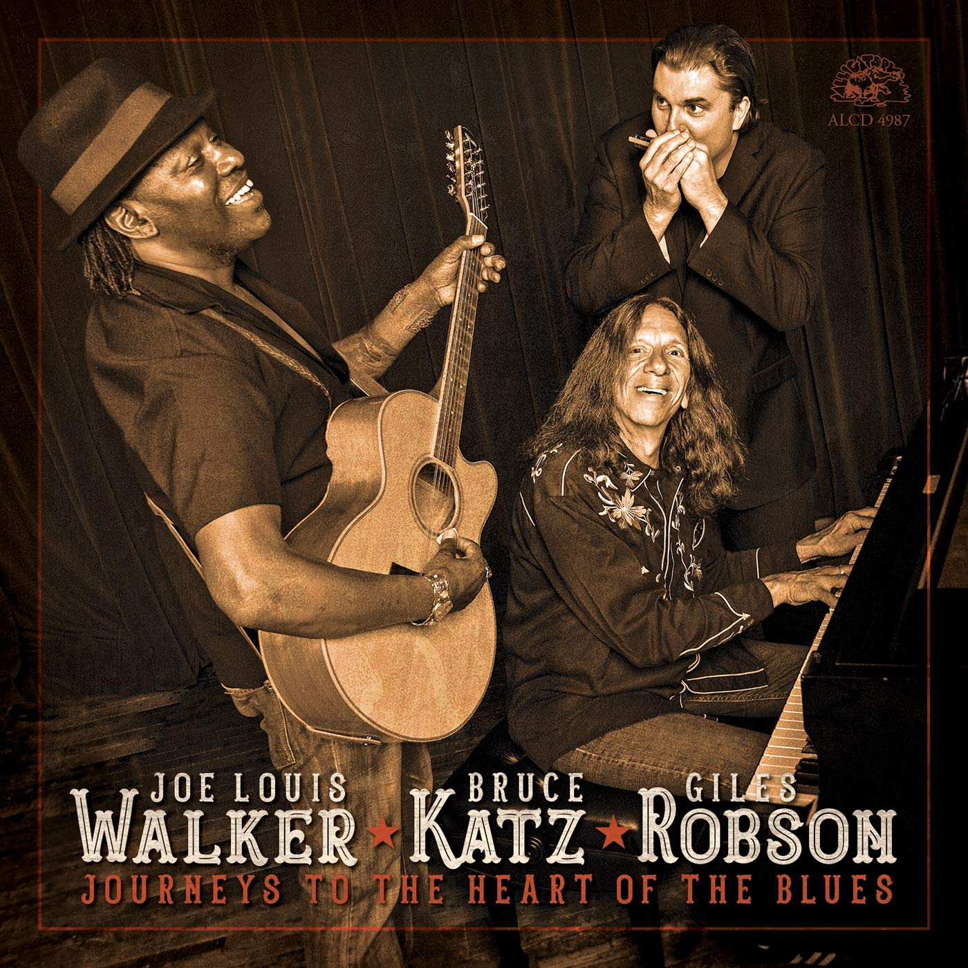 CD : JOE LOUIS WALKER | BRUCE KATZ | GILES ROBSON - Journeys To The Heart Of The Blues (CD)