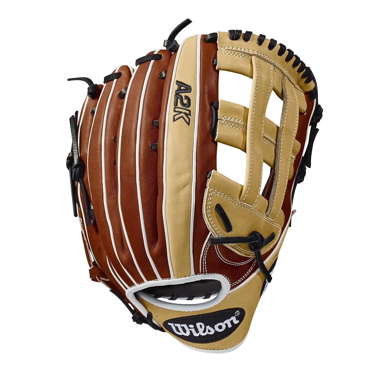 (Worn on right hand) - 2018 Wilson A2K 1799 (OF) Baseball Glove, 32cm , Left Hand Throw 32cm   B073FR8NSH