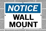 "Vestil SI-N-69-E-AL-040 Notice Sign .040"" Overall"