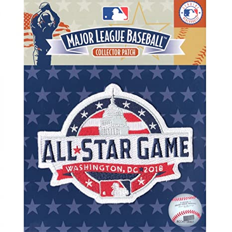 a54cd65f670 Official 2018 All Star Game MLB Washington Nationals Sleeve Jersey Logo  Patch at Amazon s Sports Collectibles Store