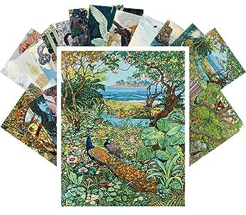 Amazon Com Postcard Set 24pcs Le Livre Des Mille Et Une