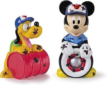 Mickey Mouse- Mickey & Pluto, Set 2 Figuras de Baño, 14 cm (Propio 182790): Amazon.es: Juguetes y juegos