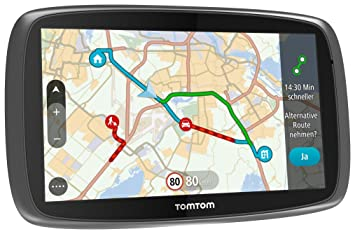 """Tomtom GO 610 World - Navegador GPS (6"""" Pantalla capacitiva táctil, Soporte magnético"""