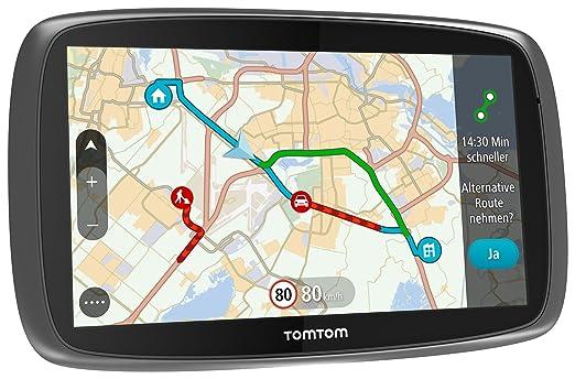 "68 opinioni per TomTom GO 610 Fixed 6"" Touchscreen 300g Black,Silver navigator- navigators"
