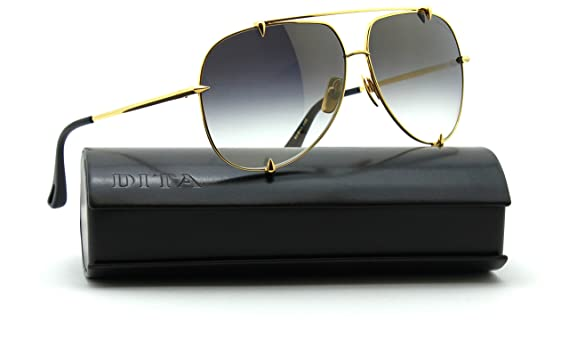 45298f5de6ba Dita TALON Unisex Aviator - 18K Gold Sunglasses 23007-D  Amazon.ca   Clothing   Accessories